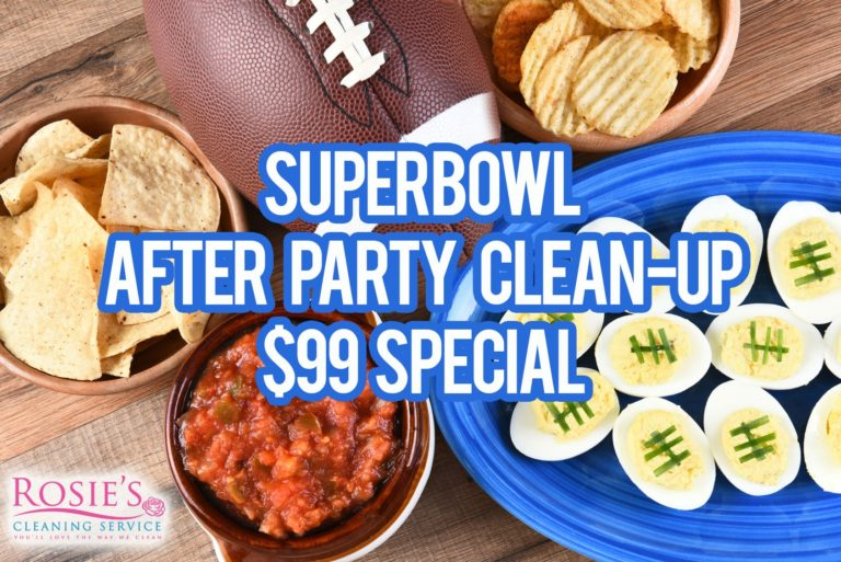 Santa Barbara Cleaning Company Offers Superbowl Cleanup Special